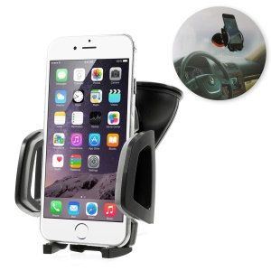 S054 Suction Cup Car Mount Holder for iPhone SE 5s 5 5c 6 6 Plus Samsung Sony LG, Width: 45-98mm