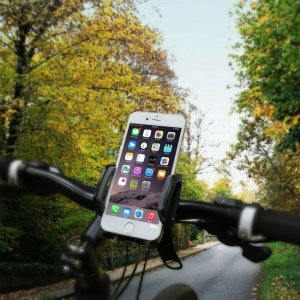 BASEUS Wind Series Bike Bicycle Phone Bracket Stand for iPhone 6 Plus, Clamp Range: 55-100mm