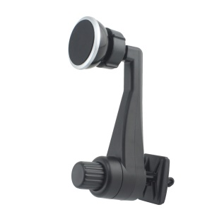 099B-116 Car Air Vent Magnetic Phone Holder Rotary Car Mount for Samsung Note 8, Huawei P10 etc. - Black