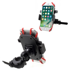 X38-X31 Universal Bicycle Handlebar Rotary Phone Holder Mount, Clamp Width: 55-85mm
