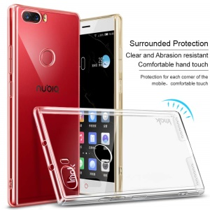 IMAK Crystal Case II Pro for ZTE nubia Z17 Scratch-resistant Clear PC Cell Phone Case