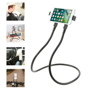 Hanging on Neck Cell Phone Mount Holder Lazy Bracket with Flexible Long Arm Mount