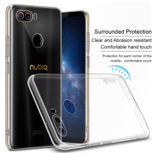 IMAK Crystal Case II Pro for ZTE nubia Z17S Scratch-resistant Clear PC Mobile Phone Case