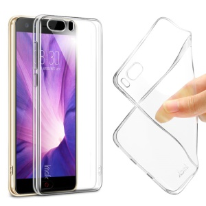 IMAK Stealth Clear Soft Case TPU Cover for ZTE nubia Z17 miniS + Screen Protector Film