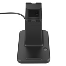 2 in 1 Charging Stand Station for Fitbit Ionic and Universal Smart Phones and Tablets