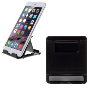 Angle Adjustable Phone Tablet PC Stand Holder for iPhone Samsung iPad etc - Black