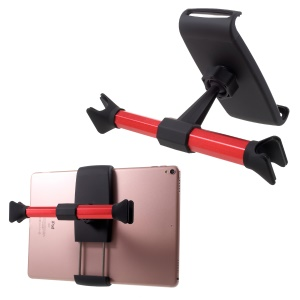 360-degree Rotatable Car Rear Seats Pillow Stand for Smartphones and Tablets - Red