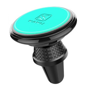 Magnetic Aromatherapy Air Vent Car Mount Holder for iPhone Samsung etc. - Cyan