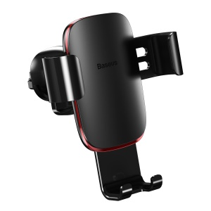 BASEUS Metal Age Gravity Car Air Vent Mount Holder for iPhone Samsung Huawei etc - Black