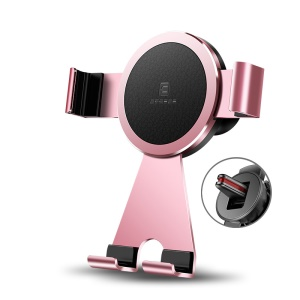 Pink - CAFELF 360 Degree Rotating Car Air Vent Holder Car Mount for iPhone Samsung Huawei etc.