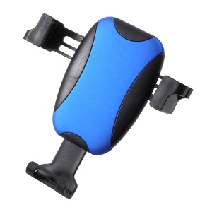 360 Degree Rotating Ball Car Air Vent Holder Car Mount with Sunglasses Hook for iPhone Samsung Huawei etc. - Blue