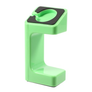 Plastic Non-slip Watch Holder Stand for Apple Watch - Green