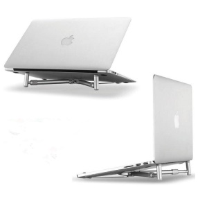 Aluminum Alloy Retractable Laptop Stand Heat Dissipation Bracket Holder for 12-17 inch Laptop Notebook