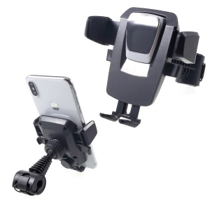 360 Degrees Rotation Car Back Seat Mount Phone Holder Stand, Clamp Width: 60 - 90mm