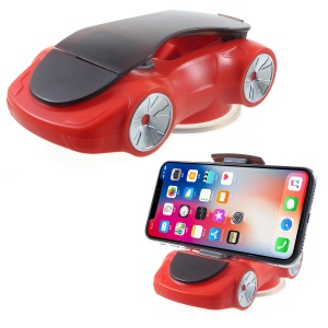 Sports Car Modeling Desktop Mount Phone Holder Stand, Clamp Width: within 90mm - Red