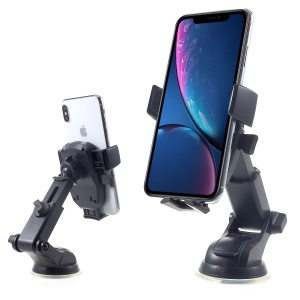 360 Degrees Rotation Car Mount Phone Holder Stand, Clamp Width: 60 - 90mm