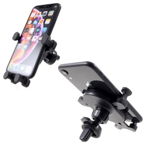 Universal Automatic Clamping Gravity Holder Air Vent Phone Mount Cradle for 4-6 inch Smartphone