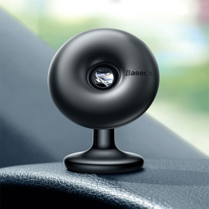 BASEUS 360° Rotation Star Ring Magnetic Car Bracket (Paste type) - Black