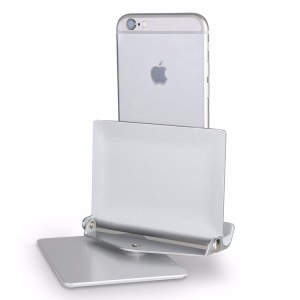 Aluminum Alloy 360 Degree Rotating Tablet & Phone Holder Stand