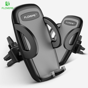 FLOVEME Car Air Vent Mount Phone Stand Holder for iPhone Samsung Huawei Etc