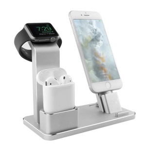 3-in-1 iWatch Stand Airpods Charger Dock Phone Desktop Holder