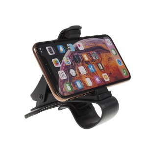 Universal Clip On Car HUD GPS Dashboard Mount Phone Holder Non-slip Stand