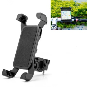 360° Bicycle Bike Phone Mount Holder for 3.5 - 7 inches Cellphone - Black