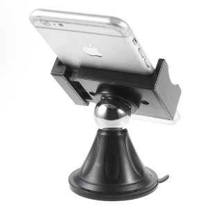 Car Mount Suction Cup Cradle Stand for iPhone 6s Plus/Samsung Note5, Width: 59-90mm