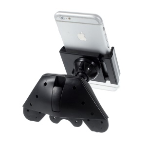 Rotary CD Slot Car Mount Holder for iPhone Samsung etc Width: 60-85mm ZLP-CD2