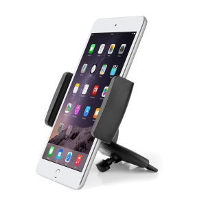 LP-8B Universal 360° Rotating Car CD Slot Holder Mount for Smartphones and Tablets