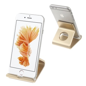 Aluminum Alloy Bracket for iPhone 6s Plus / Galaxy S7 - Champagne Gold Color