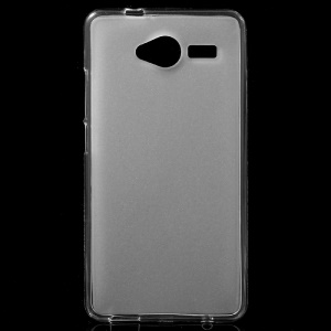 Double-sided Frosted TPU Case for ZTE Blade L3 - White