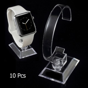 10Pcs/Lot C-type Plastic Display Stands for Watch Bracelet Jewelry