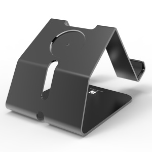 OATSBASF Metal Charging Stand for Apple Watch iPhone iPad Smartphone Tablet - Black