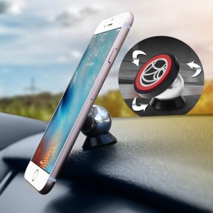 UF-X Magnetic 360 Degree Rotation Car Mount Holder Kit for iPhone Samsung