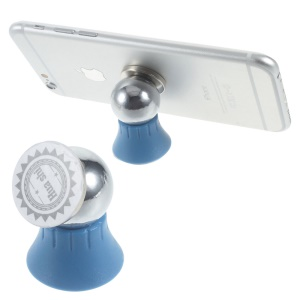Mini Magnetic Car Mount Cradle Holder Kit for iPhone Samsung Smartphone - Dark Blue