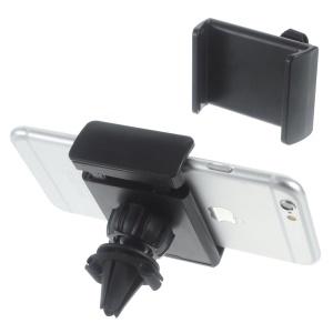 Portable Air Vent Car Mount Stand for iPhone 6s Plus/Samsung S7, Width: 50-90mm