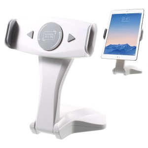 IMOUNT Universal Desk Tablet Mount Stand for iPad Pro 12.9 / iPad mini 4 - White / Grey