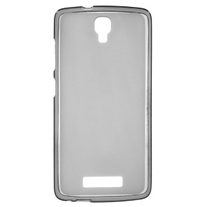 Double-sided Matte Gel TPU Phone Case for ZTE Blade L5 Plus - Grey
