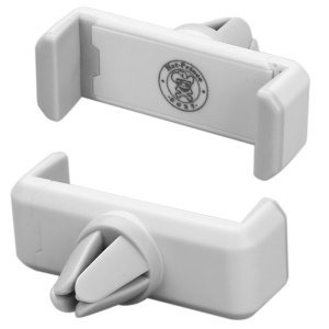 HAT Prince Car Air Vent Mount Holder for iPhone Samsung Sony etc Width: 5.6 - 8.5cm - White