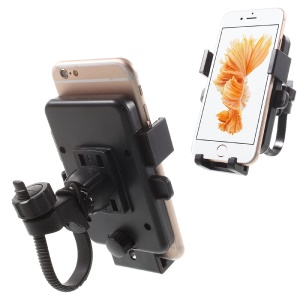 Bike Bicycle Handlebar Mount Holder for Smartphone GPS PDA etc, Width: 55-85mm (HLBK-X6)