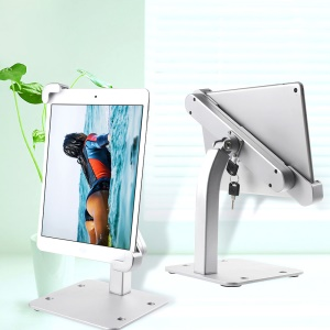 Anti-thief Desk Mount Aluminum Alloy Display Stand for 7.8-11 inch Tablets C86+H84A