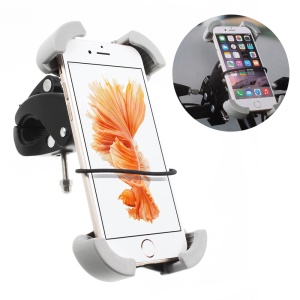 Universal Rotary Bicycle Mount Phone Holder for iPhone Samsung, Clamp Range: 115-175cm (C84+H43)