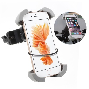 Universal Rotary Bicycle Mount Phone Holder for iPhone Samsung, Clamp Range: 115-175cm (C84+H61)