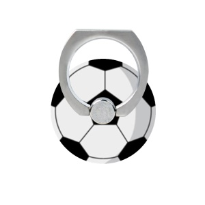 Fresh Fruit Pattern Finger Ring Kickstand Cable Winder for iPhone iPad etc - Football