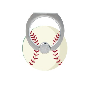 Fresh Fruit Pattern Finger Ring Kickstand Cable Winder for iPhone iPad etc - Baseball