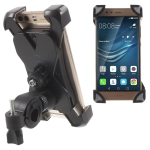 Support de support de guidon de vélo pour iPhone Samsung, etc., pinces: 180 x 92mm (Max) - Gris