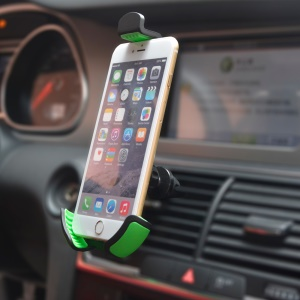 Car Air Vent Holder 360-Degree Rotation for iPhone 6s Plus/Samsung Note7/Huawei P9 Etc