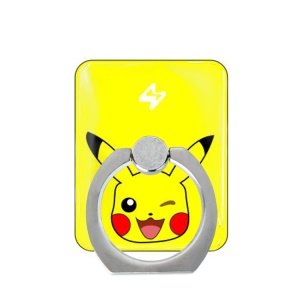 Pokemon Go Quiz Metal Ring Stand for iPhone Samsung - Pocket Monster Pikachu