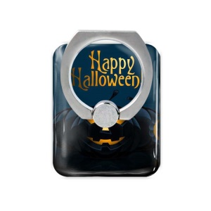 Halloween Series Finger Holder Phone Kickstand for iPhone 6s Plus / Samsung Galaxy Note 7 N930 - Happy Halloween